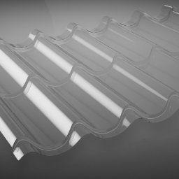Lichtplatten für Pfannenblech
