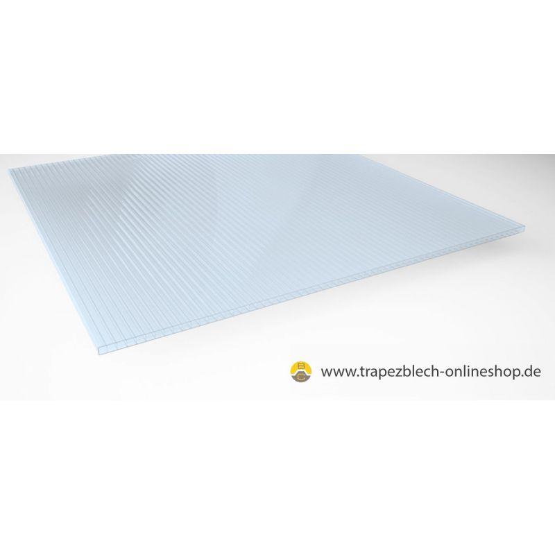 stegplatte polycarbonat 16 mm 1200 mm breit hellblau f r terasse. Black Bedroom Furniture Sets. Home Design Ideas