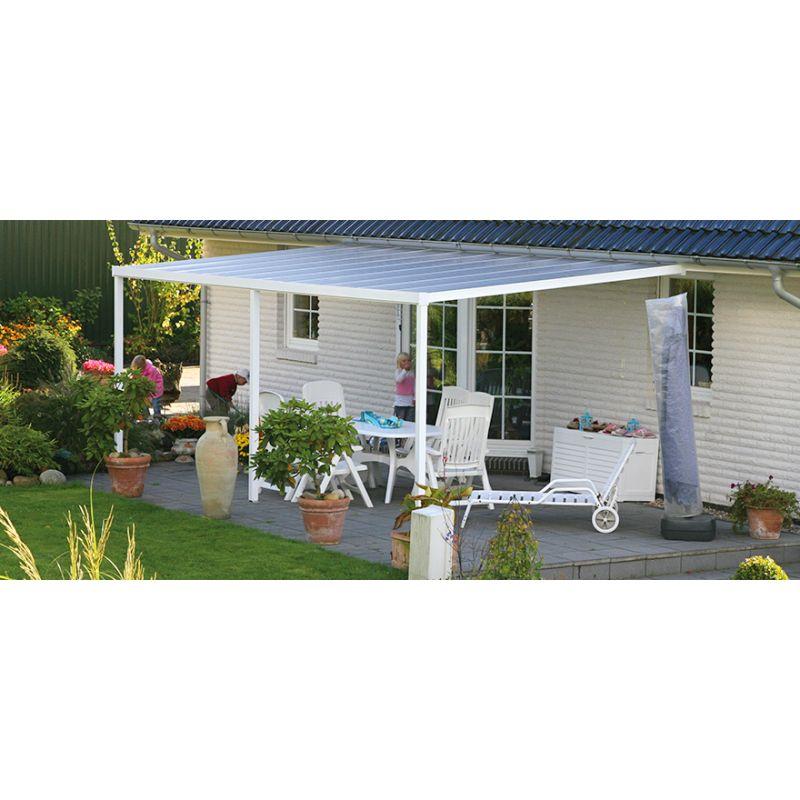 carport terrassen berdachung aluminium bausatz komplett. Black Bedroom Furniture Sets. Home Design Ideas