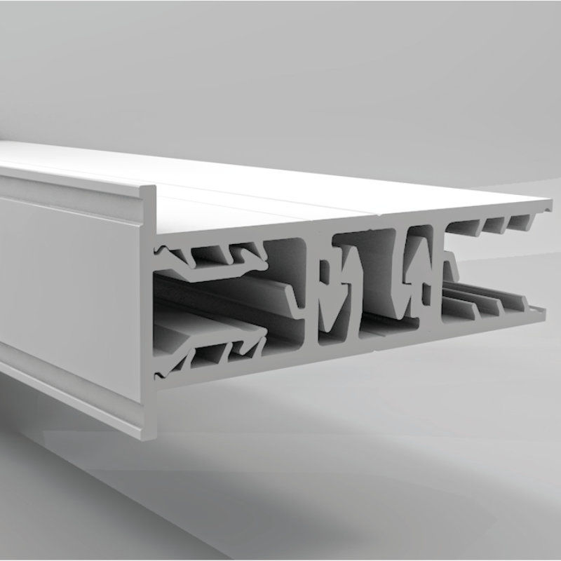 verlegeprofil pvc mittelprofil g nstig online kaufen. Black Bedroom Furniture Sets. Home Design Ideas