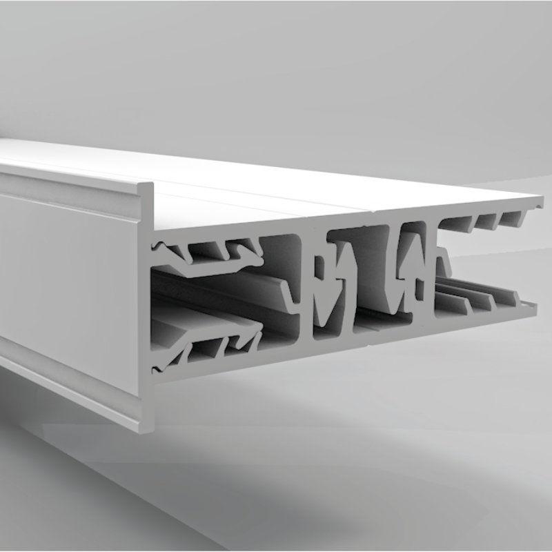 verlegeprofil pvc randprofil g nstig online kaufen. Black Bedroom Furniture Sets. Home Design Ideas