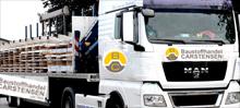 Lieferung Baustoffhandel Carstensen