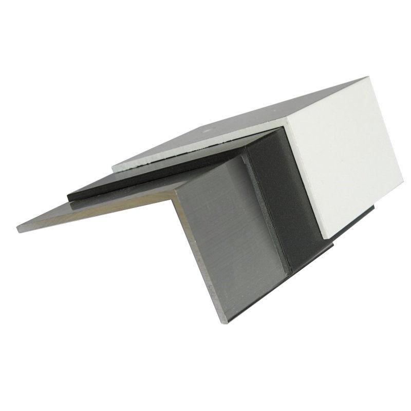 alu bremswinkel zur montage auf verlegeprofil bei stegplatten. Black Bedroom Furniture Sets. Home Design Ideas