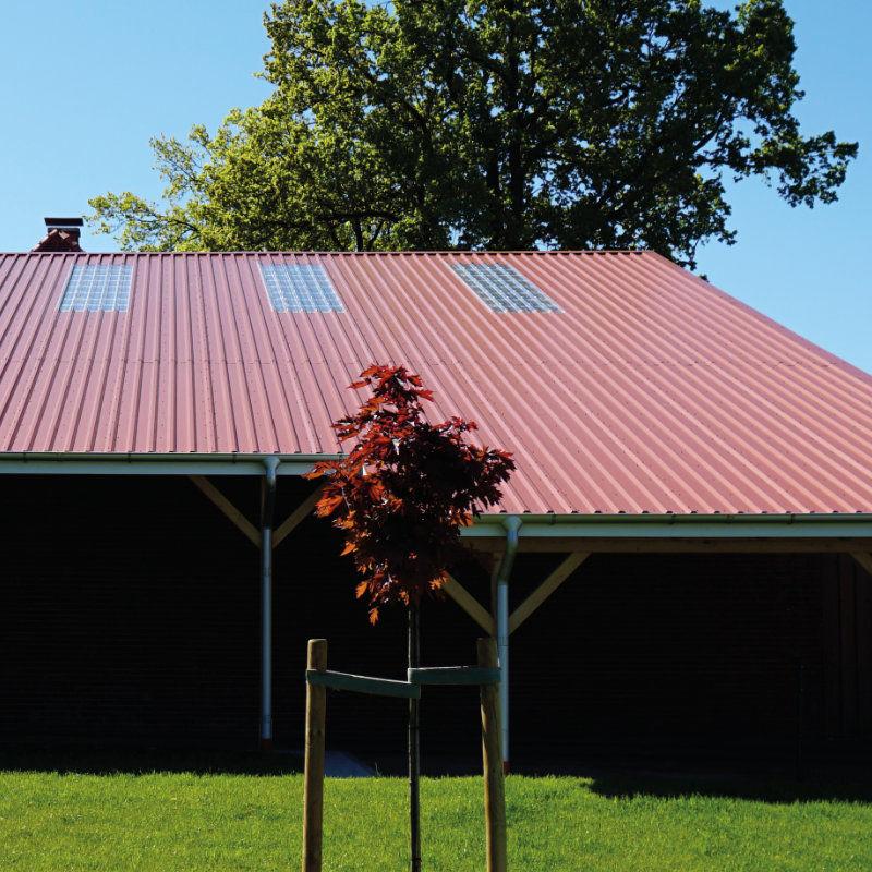 Super Trapezblech 35/207 Dachprofil - 25my Polyester Farbbeschichtung XB31