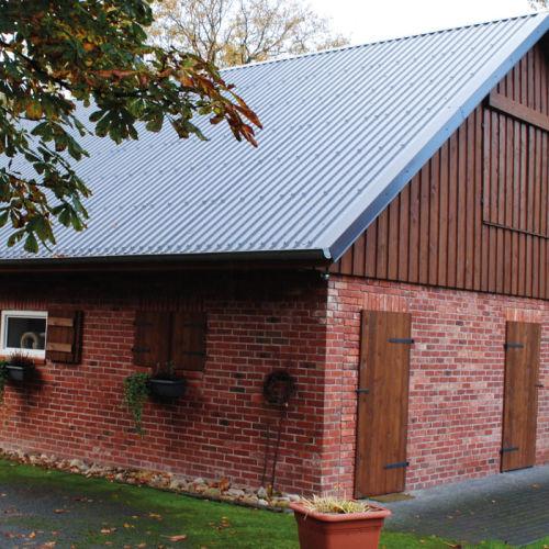 Beliebt Alu Trapezblech 20/138 Dach 25my Polyester 0,7 mm Stärke BY21