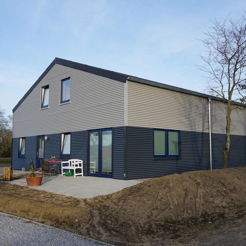 Aluminium wellblech 76 18 wandprofil 25my polyester - Alu fensterbank montieren ...