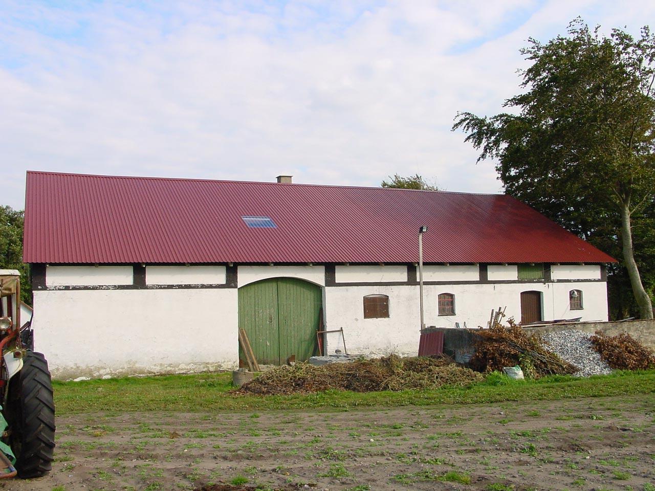 Gut gemocht Hallenbau in der Landwirtschaft mit Profilblech KK74